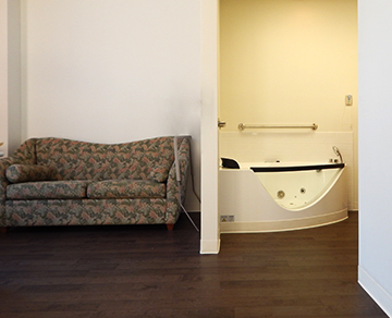 Pen Bay Birth Center's new Birthing Suite and Jacuzzi Tub