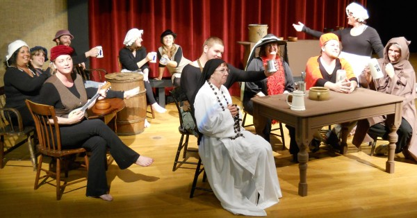 Left to right: Karen Wood, Ezra Merriman Briggs, Hosanna Jensen, Derek Thaxter, Adrianna Ackley, Amy Dowley, Dakota Wright, Sheila Huckins, Amy Ackley, Ryan French, Heather Mawhinney, Fred Crowley
