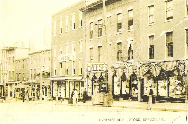 1892: Freese's department store opens on Main St.