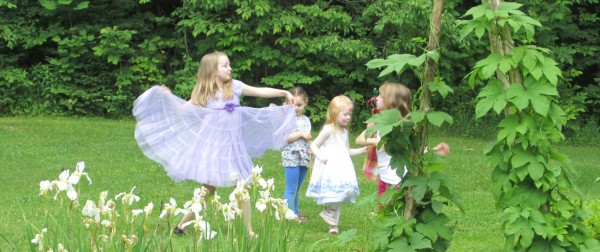 Last year's Fairy Festival at Merryspring Nature Center