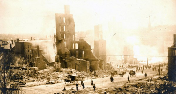 1911: The Great Fire ravages Bangor