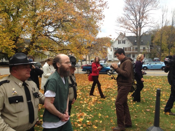 2013: Christopher Knight, the North Pond Hermit, is arrested for burglary after living in the woods for 27 years
