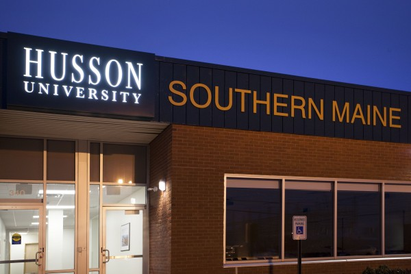 The campus of Husson University - Southern Maine