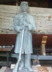 Orono's statue.