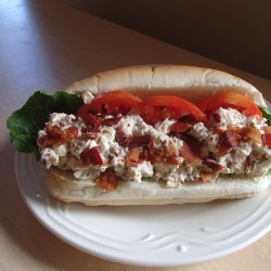 It's a hot dog … it's bacon … it's a 'danger dog'
