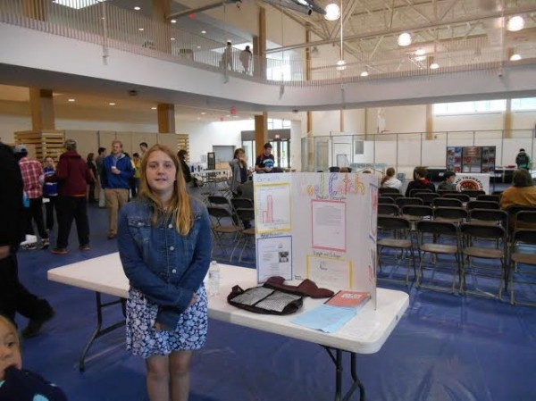 Sixth-grader Rachael Balmas, a student at Hermon Middle School, won second place in the Maine Invention Convention state competition held at the University of Maine on May 17. She invented a product to keep softball and baseball players cool when playing games in hot weather.