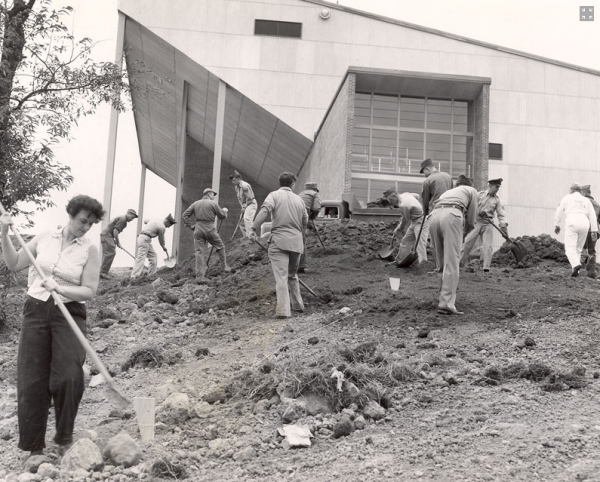 1955: The new Bangor Auditorium is constructed