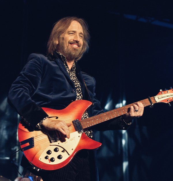 Tom Petty performs in Horsens, Denmark in 2012.