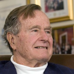 Former President George W. Bush spends birthday in Maine
