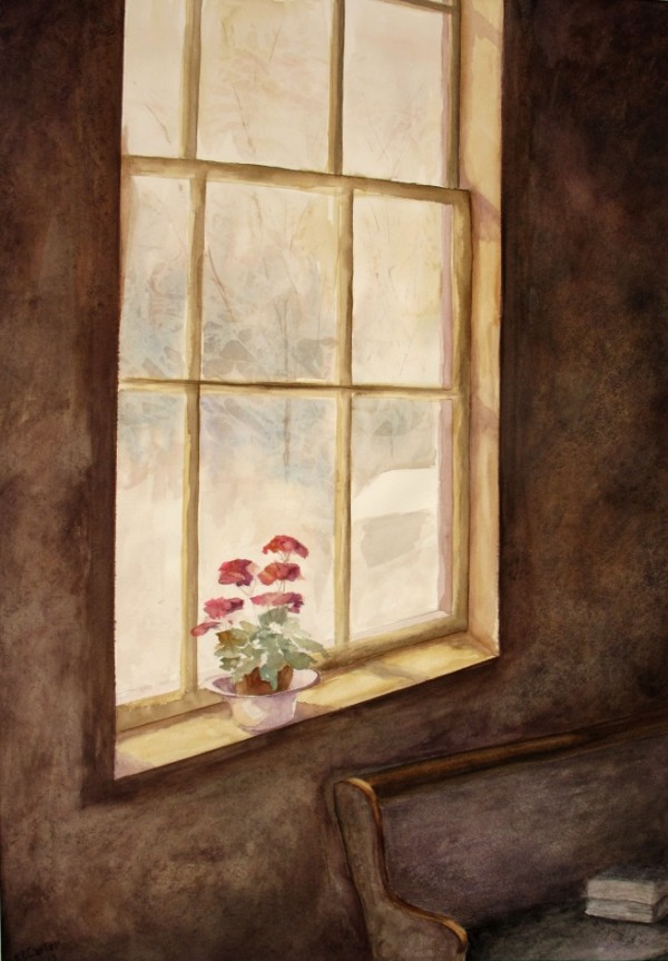 Paintings by Kay Carter are on exhibit at the Robert E. White Gallery in Peabody Hall at Husson University from June 30 through September 4, 2014.