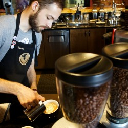 Coffee lovers set up shop in Deer Isle's old high school