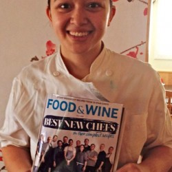Brunswick restaurateur named one of Food & Wine Magazine's Best New Chefs in US