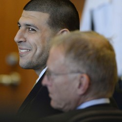 Judge keeps ex-Patriot Aaron Hernandez's recorded jail calls off limits