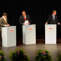 Put Cutler, Michaud, LePage on a stage, and what does it show?