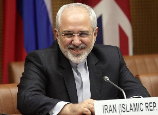 Iranian Foreign Minister Mohammad Javad Zarif waits to begin talks in Vienna July 3, 2014.