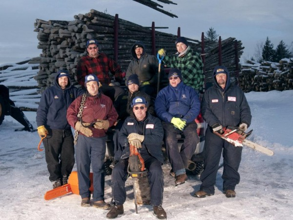 The season three cast of &quotAmerican Loggers,&quot seen here in 2011.
