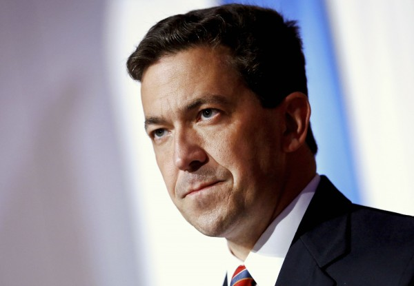 Tea Party candidate Chris McDaniel delivers a concession speech in Hattiesburg, Mississippi in this June 24, 2014 file photo.