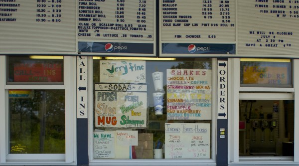 Jordan's Snack Bar in Ellsworth serves up ice cream, burgers, fried food and a touch of nostalgia for many of its loyal customers who have been eating there for 30 years.