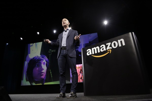 Amazon.com announced Friday it is instituting a monthly subscription service that will allow as many e-books as a customer wants. Pictured is Amazon CEO Jeff Bezos.