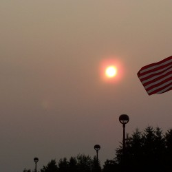 Quebec wildfires cause Maine air-quality alert