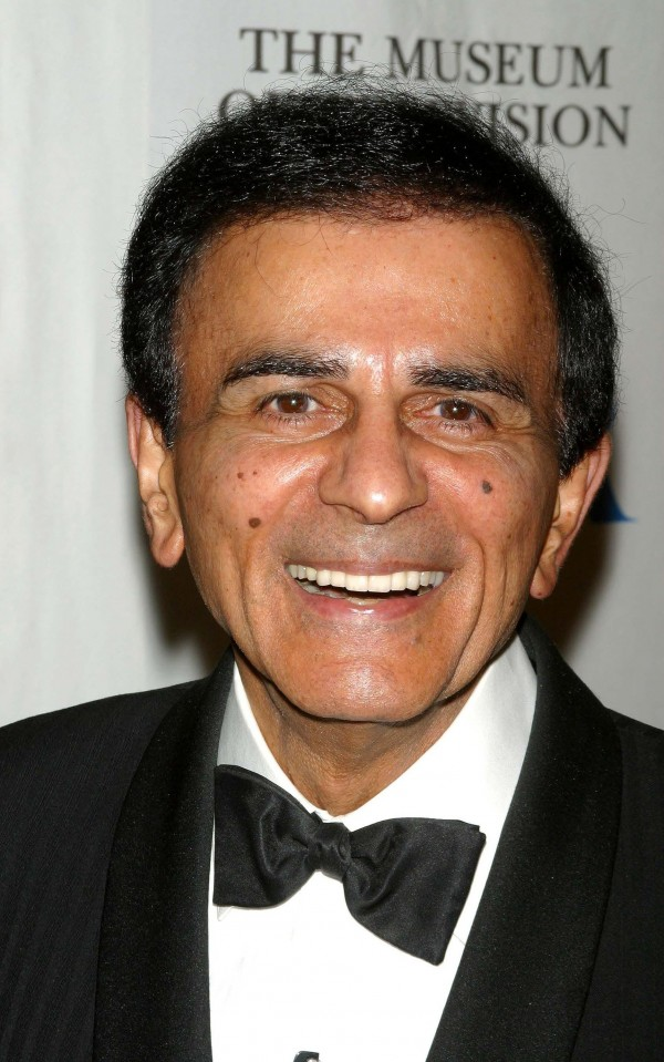 Casey Kasem, the voice of the syndicated show &quotAmerican Top 40&quot died June 15, 2014, at age 82.