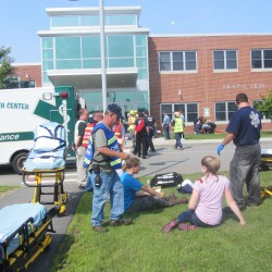 Plane crash drill helps galvanize emergency response efforts