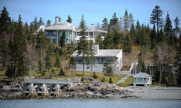 Billionaire Mitchell Rales built this mansion and associated buildings in Northeast Harbor on Mount Desert Island in 2010. The structures and the 4.6-acre lot they sit on have a total assessed value of $24.5 million.
