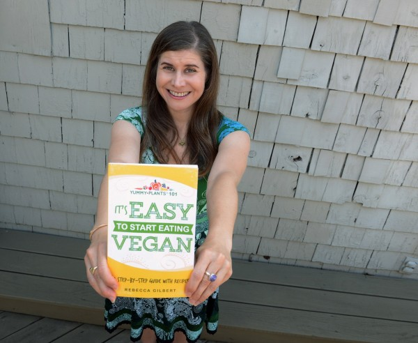 Rebecca Gilbert, of Shadyside, is the author of &quotIt's Easy to Start Eating Vegan!&quot