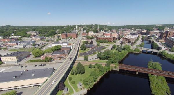 Aerial view of Bangor