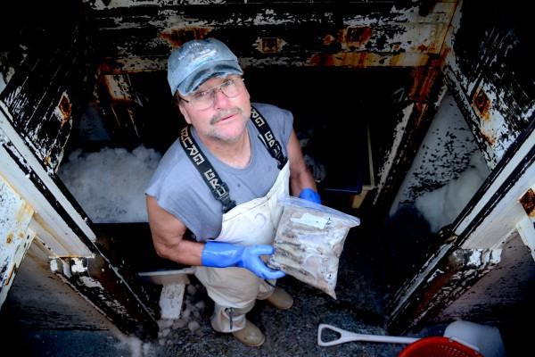Port Clyde fisherman Randy Cushman