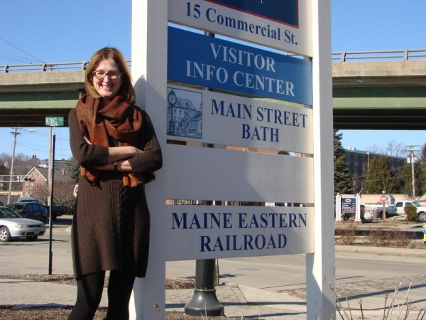 Jennifer Geiger, former director and longtime board member of the downtown organization Main Street Bath, is seen in a 2012 file photo from The Forecaster.