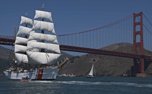 The Coast Guard cutter Eagle will be in Rockland starting Friday with tours available on Saturday and Sunday.