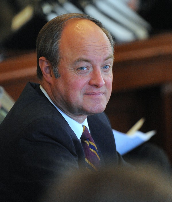 Pictured is Sen. Andre Cushing, R-Hampden.