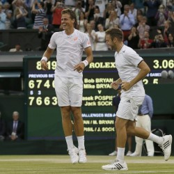 US twins win Wimbledon doubles title to complete 'Bryan slam'