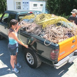 Artist to purchase old fishing rope at buyback program in Hancock