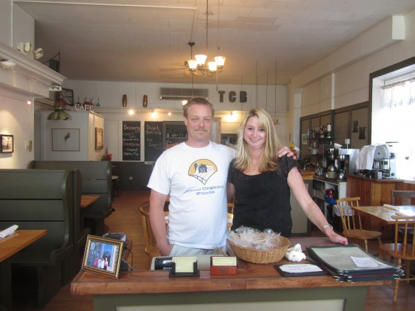 Ryan Jones and Marci Molloy are the new owners and operators of the Thomaston Cafe.