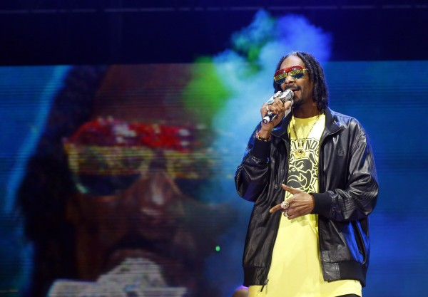 Snoop Lion, formerly known as Snoop Dogg, performs during the 13th EXIT music festival at Petrovaradin Fortress, in Novi Sad July 11, 2013.