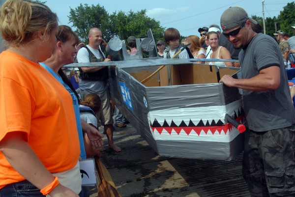Organizers estimated that close to 1,000 people attended the 2014 Lincoln Homecoming's &quotRedneck Regatta&quot on Saturday, July 19, 2014.