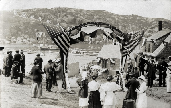 In 1914, islanders celebrated the 300th anniversary of Capt. John Smith's arrival on Monhegan Island.