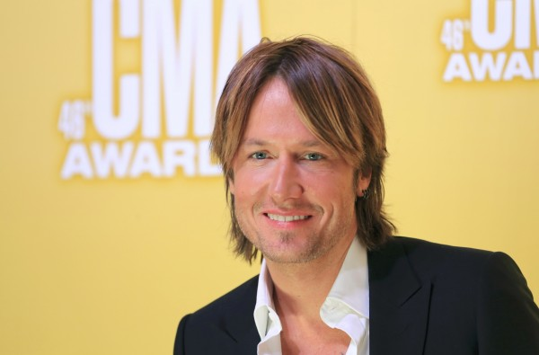 Singer Keith Urban arrives at the 46th Country Music Association Awards in Nashville, Tennessee, in 2012.