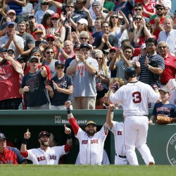 De La Rosa, Napoli lead Red Sox past Royals