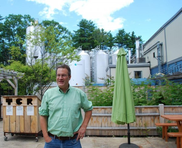 Pictured is Allagash Brewing founder Rob Tod at the Industrial Way brewery in Portland.
