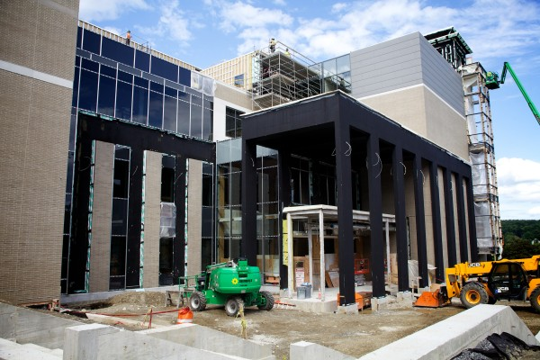 The new Capital Judicial Center in Augusta is under construction and due to open in December.
