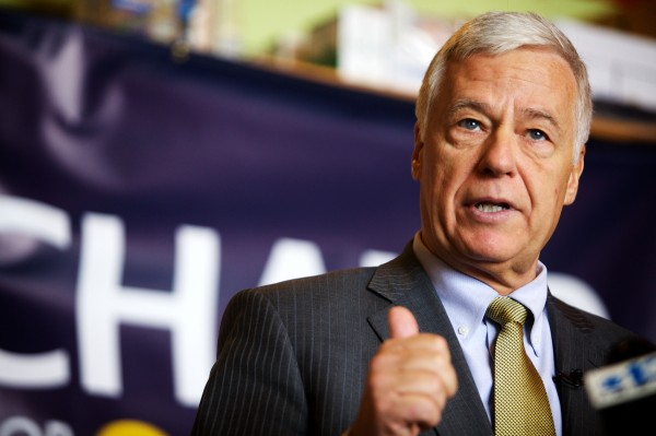 Democratic gubernatorial candidate and U.S. Rep. Mike Michaud
