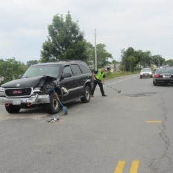 Driver cited in Hope crash that hurt 3