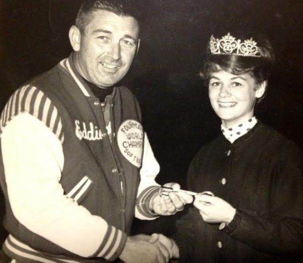 Sherry Lowe handed out keys to the city after she was crowned Miss Bangor in 1964.