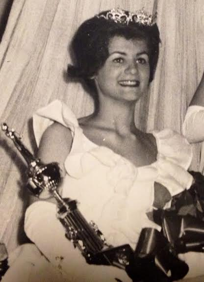 Sherry Lowe was crowned Miss Bangor in 1964, and a newspaper ran her picture after she was crowned.