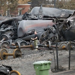 US and Canadian regulators call for tougher rail standards after Lac Megantic crash