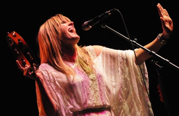Grace Potter of Grace Potter and the Nocturnals performs in 2011.