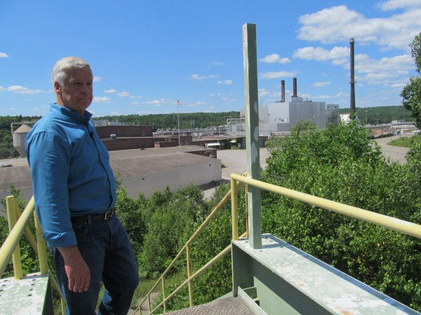 U.S. Rep. Mike Michaud, who is giving up his congressional seat to run in the 2014 gubernatorial election, reflects on the way life used to be when the now-shuttered paper mill in East Millinocket, where he worked for years before entering politics, was booming.